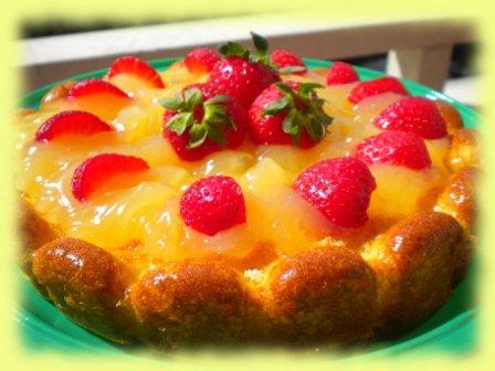 Un'ispirazione speciale x 2 tortine con crema al limone senza lattosio (biondina di Krikrira)