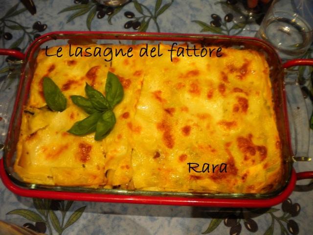 lasagne fattore