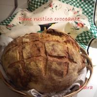 Pagnotta rustica croccante: finalmente!