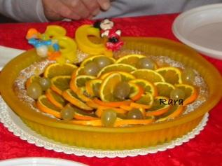 crostata visciole e arance