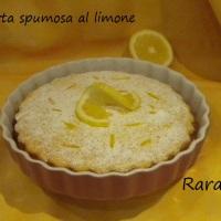 Torta spumosa al limone