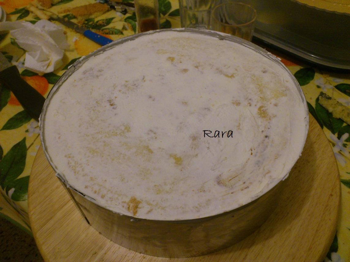 Decorare una torta con la panna un 39 altra fetta di torta - Decorare frigorifero ...
