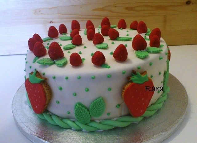 torta fragoline 25°