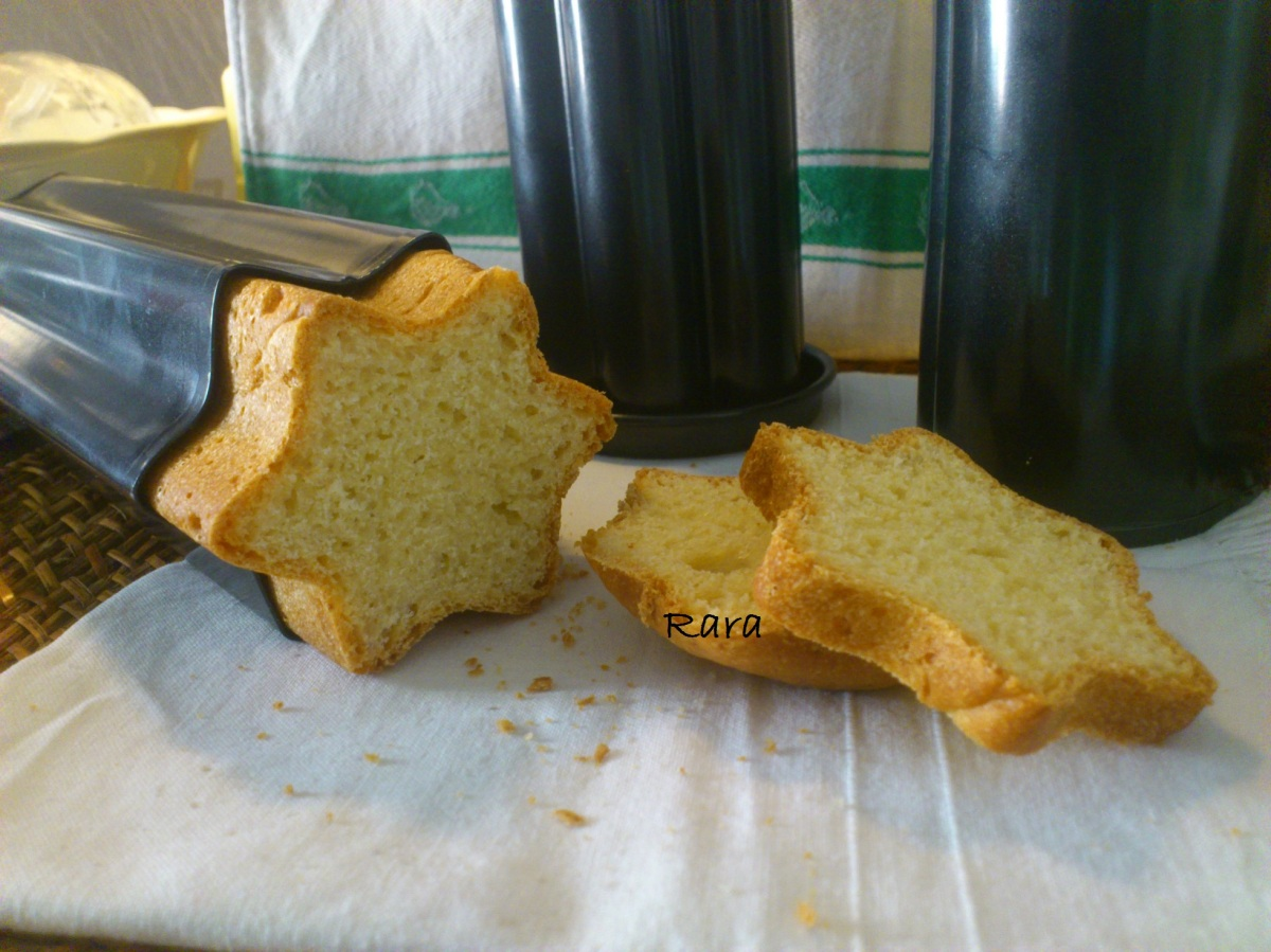 Pan brioche creativo con i Tubi per pane da party