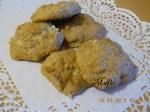 biscottini morbidi mele e noci preparati da Mafi