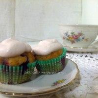 Mini muffin ai frutti di bosco con crema di yogurt (gluten free)