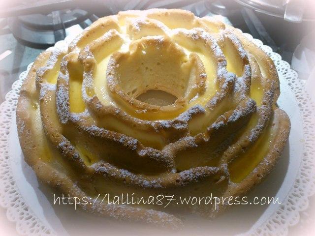 torta rosa arancia solo albumi (3)