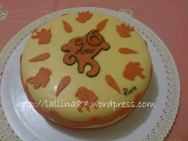 torta 6 anni
