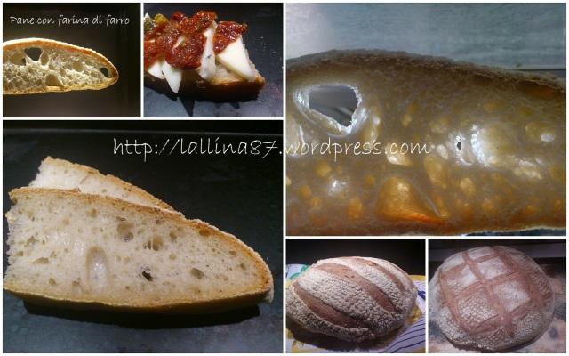 pane bianco al farro