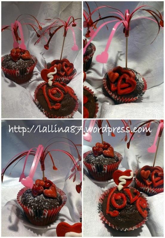 muffin cioccolato sale rosa