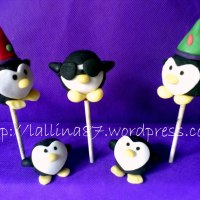 Cake pops...Pinguini!