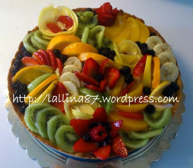 decorazioni con la frutta un 39 altra fetta di torta
