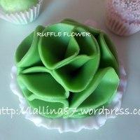 Shabby Chic Cake sui toni del verde