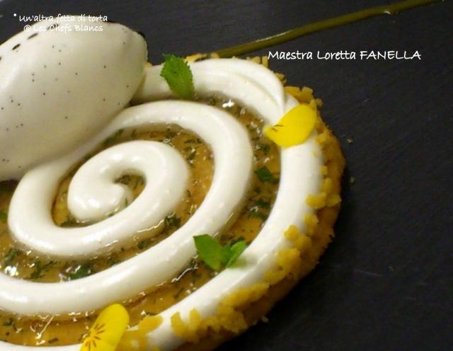 fanella spirale fiori