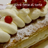 Millefoglie con chantilly al mascarpone e vaniglia