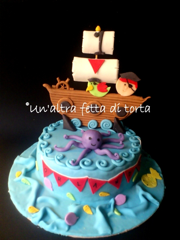 Torta pirati con cupckes abbinati!